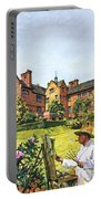 Winston Churchill Painting At Chartwell Portable Battery Charger
