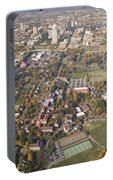 Winston Salem Nc From Above Portable Battery Charger