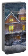 Winter - Clinton Nj - A Victorian Christmas  Portable Battery Charger