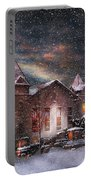 Winter - Clinton Nj - Silent Night  Portable Battery Charger