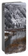 Winter Along The Salt Portable Battery Charger