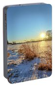 Winter At Mayne's Portable Battery Charger