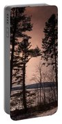 Winter At Nepaug Portable Battery Charger