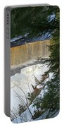 Winter At Tahquamenon Portable Battery Charger