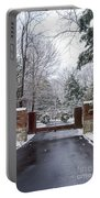 Winter At The Gate Portable Battery Charger