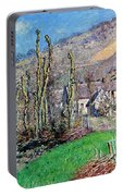 Winter At The Val De Falaise Portable Battery Charger
