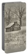 Winter At Valley Forge Portable Battery Charger