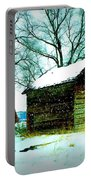 Winter Barn And Silo Portable Battery Charger