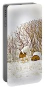 Winter Beauty Portable Battery Charger