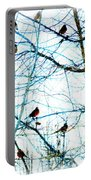 Winter Birds 2 Portable Battery Charger