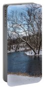 Winter Blue James River Portable Battery Charger