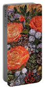 Winter Bouquet    Portable Battery Charger