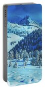 Winter Canvas Portable Battery Charger