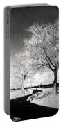 Winter Darkness Portable Battery Charger