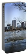 Winter Day At Belle Isle Portable Battery Charger