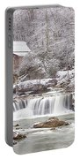 Winter Day At The Mill  Portable Battery Charger
