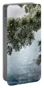 Winter Decor Portable Battery Charger