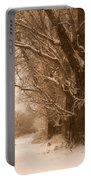 Winter Dream Portable Battery Charger by Carol Groenen