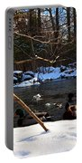 Winter Ducks Portable Battery Charger