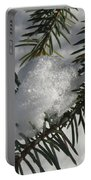 Winter Evergreen Portable Battery Charger