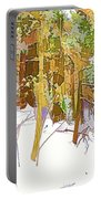Winter Forest 1 Portable Battery Charger