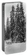 Winter Forest Journey Portable Battery Charger