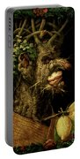Winter Portable Battery Charger by Giuseppe Arcimboldo