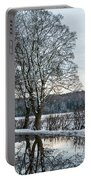 Winter In England, Uk Portable Battery Charger