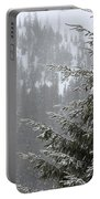 Winter In The Forest Portable Battery Charger
