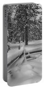 Winter In The Sierra Portable Battery Charger