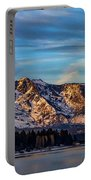 Winter Morning South Lake Tahoe Portable Battery Charger