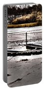 Winter On The Bay Portable Battery Charger