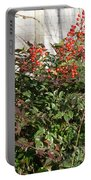 Winter Red Berries Portable Battery Charger
