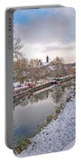 Winter Reflections On The River Portable Battery Charger