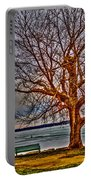 Winter Retreat Portable Battery Charger