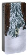 Winter Road Into Sequoia National Park Portable Battery Charger