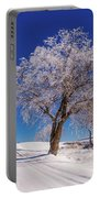 Winter Scene Genessee, Id Portable Battery Charger