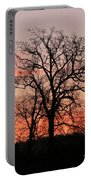 Winter Skies Portable Battery Charger