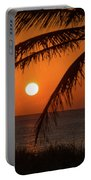 Winter Solstice Sunrise 2 Delray Beach, Florida Portable Battery Charger