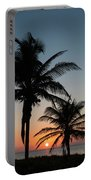 Winter Solstice Sunrise Delray Beach Florida Portable Battery Charger