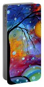 Winter Sparkle By Madart Portable Battery Charger by Megan Duncanson