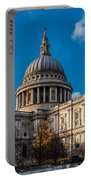 Winter Sun St Paul's Cathedral Portable Battery Charger