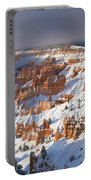 Winter Sunrise Bryce Canyon National Park Utah Portable Battery Charger