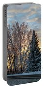 Winter Colors. Portable Battery Charger