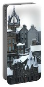 Winter Townscape Scotland Portable Battery Charger