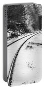 Winter Tracks Portable Battery Charger