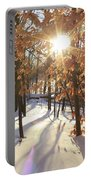 Winter Trees #1 Portable Battery Charger