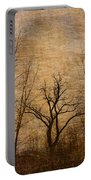 Winter Trees In The Bottomlands 2 Portable Battery Charger