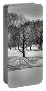 Winter Trees Portable Battery Charger