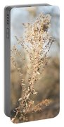 Winter Weeds Portable Battery Charger